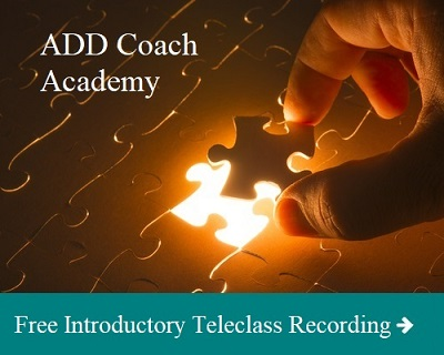 Life Coach Wanting ADHD Certification